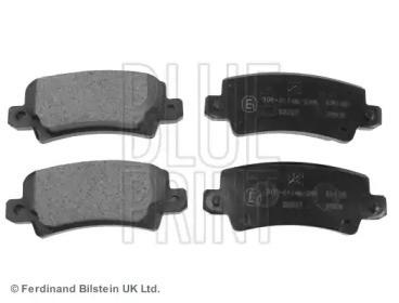 Комплект тормозных колодок, дисковый тормоз ADT342131 BLUE PRINT