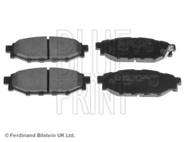 Комплект тормозных колодок, дисковый тормоз ADS74233 BLUE PRINT
