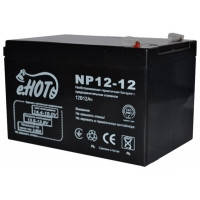 Аккумуляторная батарея ENOT 12V 12AH (NP12-12) AGM