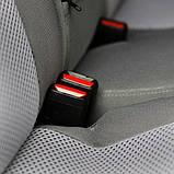 Автомобильные чехлы Chevrolet Lacetti 2003- (sedan) (тёмно-серые) Nika, фото 8