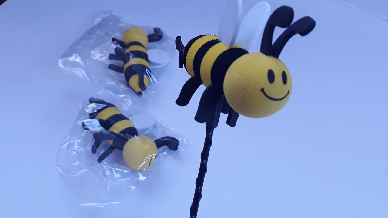 Наконечник пчела шмель игрушка для автомобильной антенны на шток антенны
