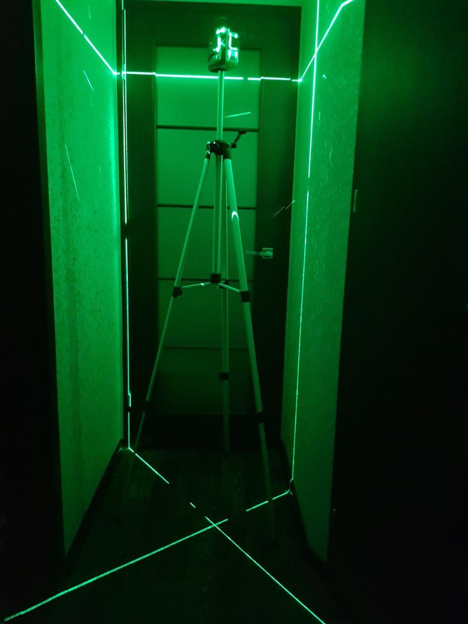 """МОЩНЫЙ ШТАТИВ для лазерного нивелира, 5/8"""", 1.8 метров!"""