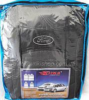 Автомобильные чехлы на Ford Focus II 2004- (sedan / hb) Nika
