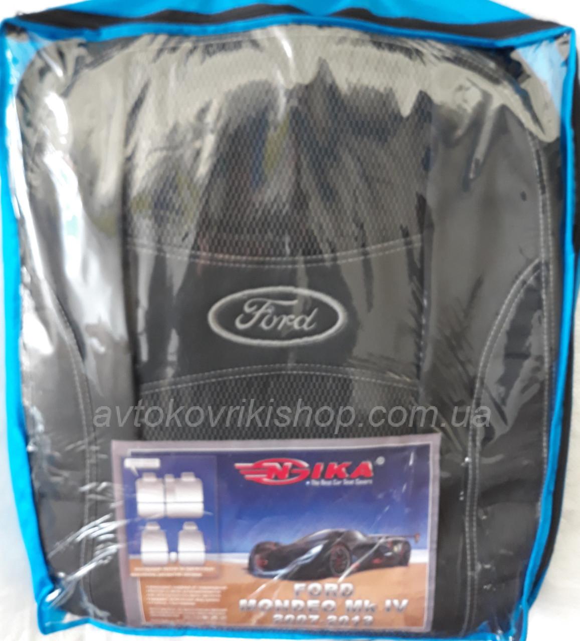 Автомобільні чохли на Ford Mondeo MK IV 2007-2013 Nika