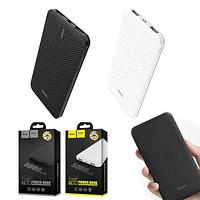 PowerBank Hoco B37 Persistent 5000 mAh (2 цвета), Портативный аккумулятор с двойным USB + подарок