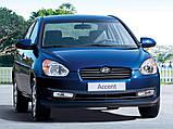 Авточехлы Hyundai Accent MC 2006-2010 Nika, фото 7
