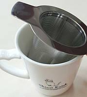 Ситечко-фильтр для чая 10х6,5см Kamille 8841
