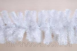 """Гирлянда новогодняя """"Хвоя стандарт белая"""", длина 2 метра"""