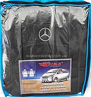 Авточехлы Mercedes Vito II W639 / Viano 1+1 2003- Nika, фото 1