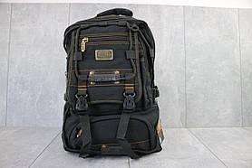 Рюкзак городской брезентовый Gold Be 98209 (черный)