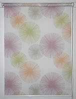 Рулонная штора 550*1500 Салют Тропик, фото 1