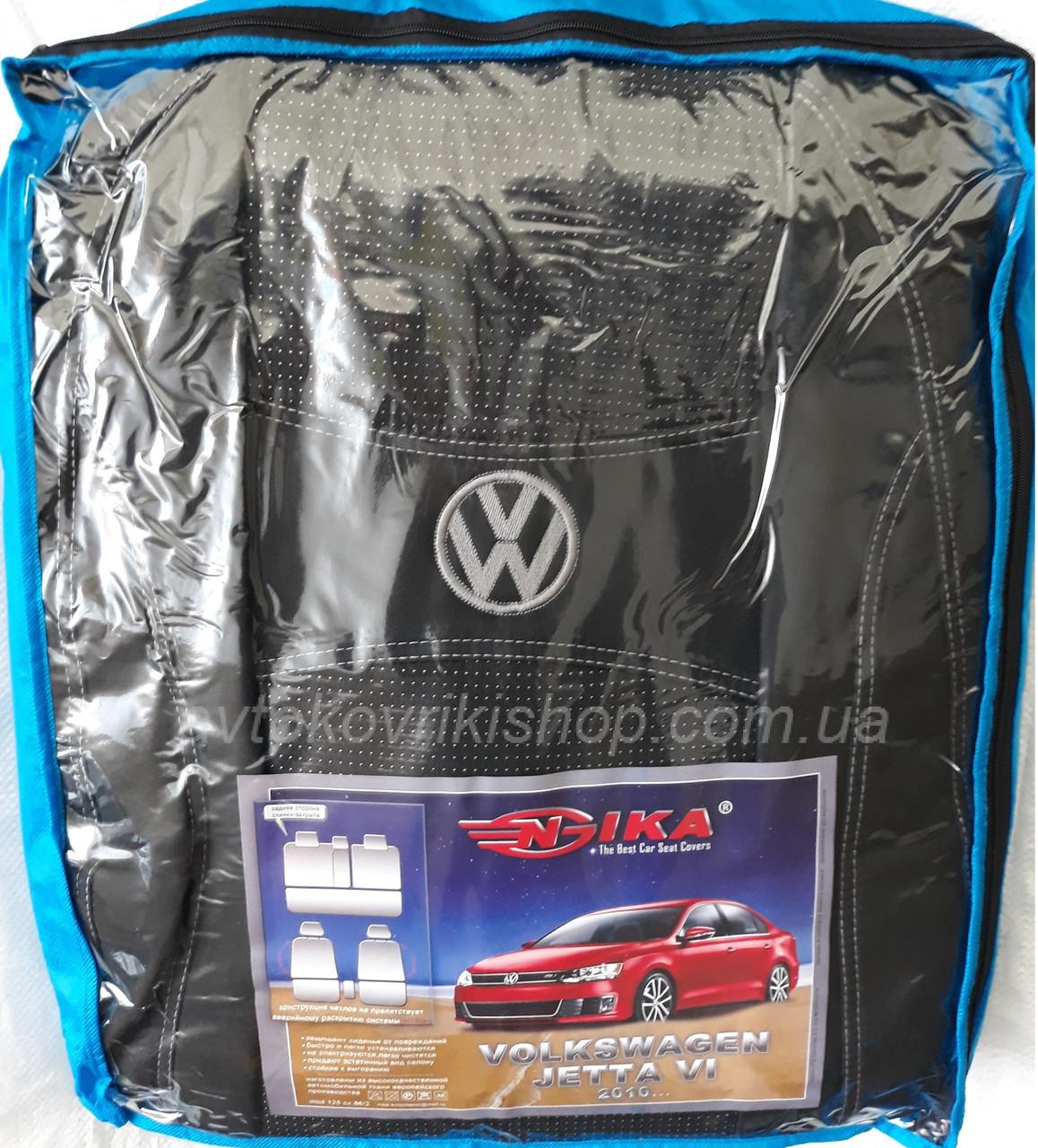 Авточехлы Volkswagen Jetta VI 2010- Nika