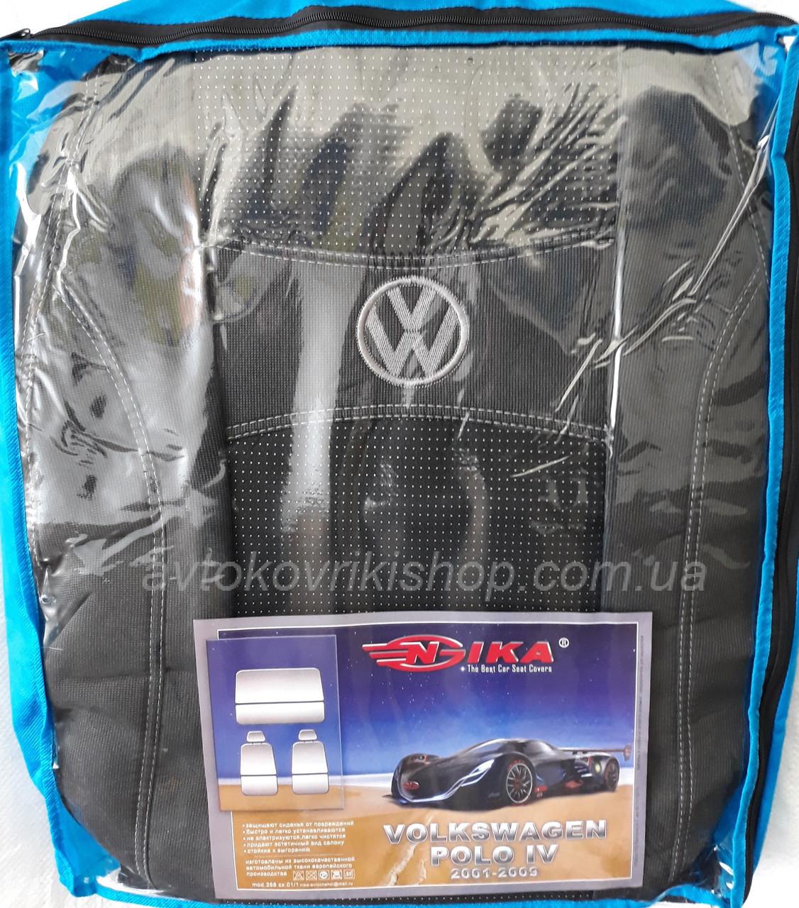 Авточехлы Volkswagen Polo IV 2001-2009 Nika