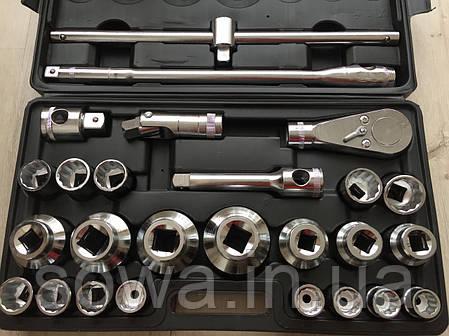 ✔️ Профессиональный набор больших головок с трещоткой LEX 1306 - 26 шт, фото 2