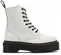 "Демисезонные Ботинки Dr. Martens Jadon *Без Меха* ""White"" - ""Белые"" (Копия ААА+)"