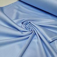 Сатин голубой ширина 240 см. №41 (Турция)