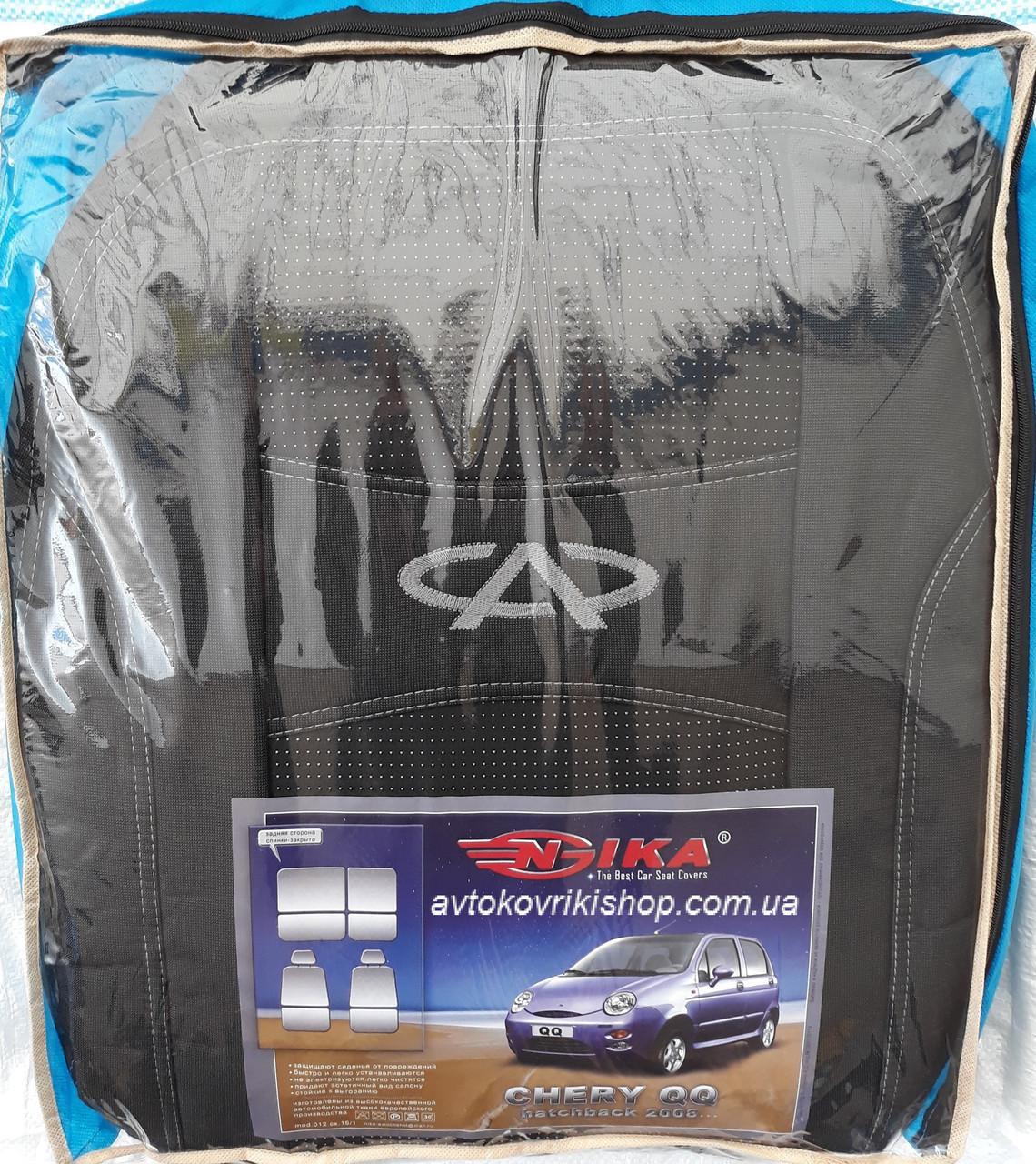 Авточехлы Chery QQ HB 2008- Nika