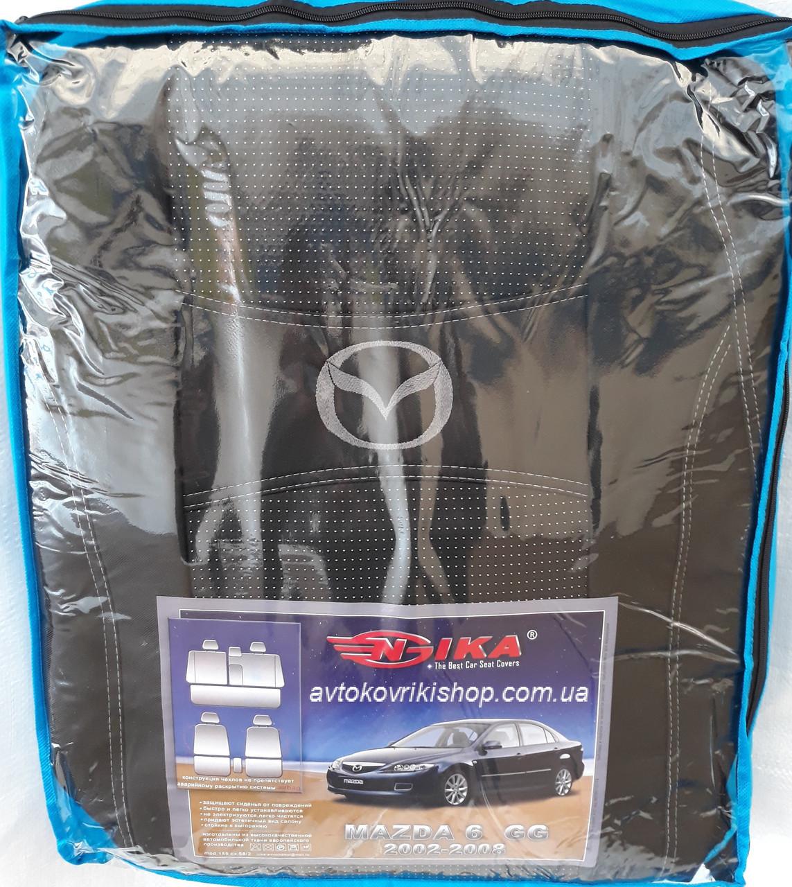 Авточехлы Mazda 6 GG 2002-2008 Nika