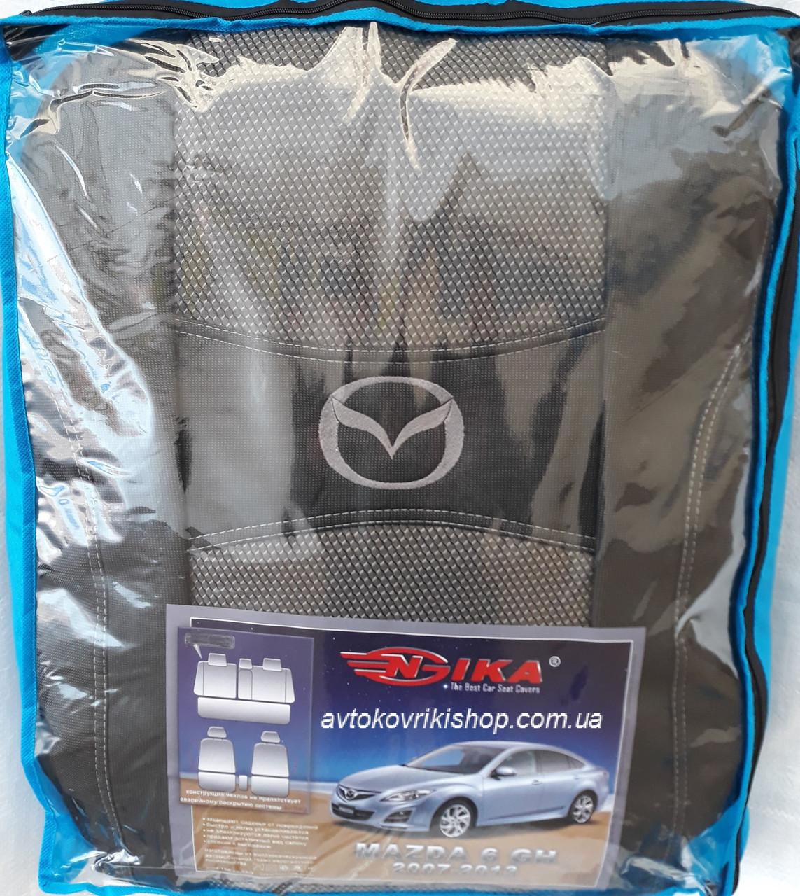 Авточехлы Mazda 6 GH 2007-2013 Nika