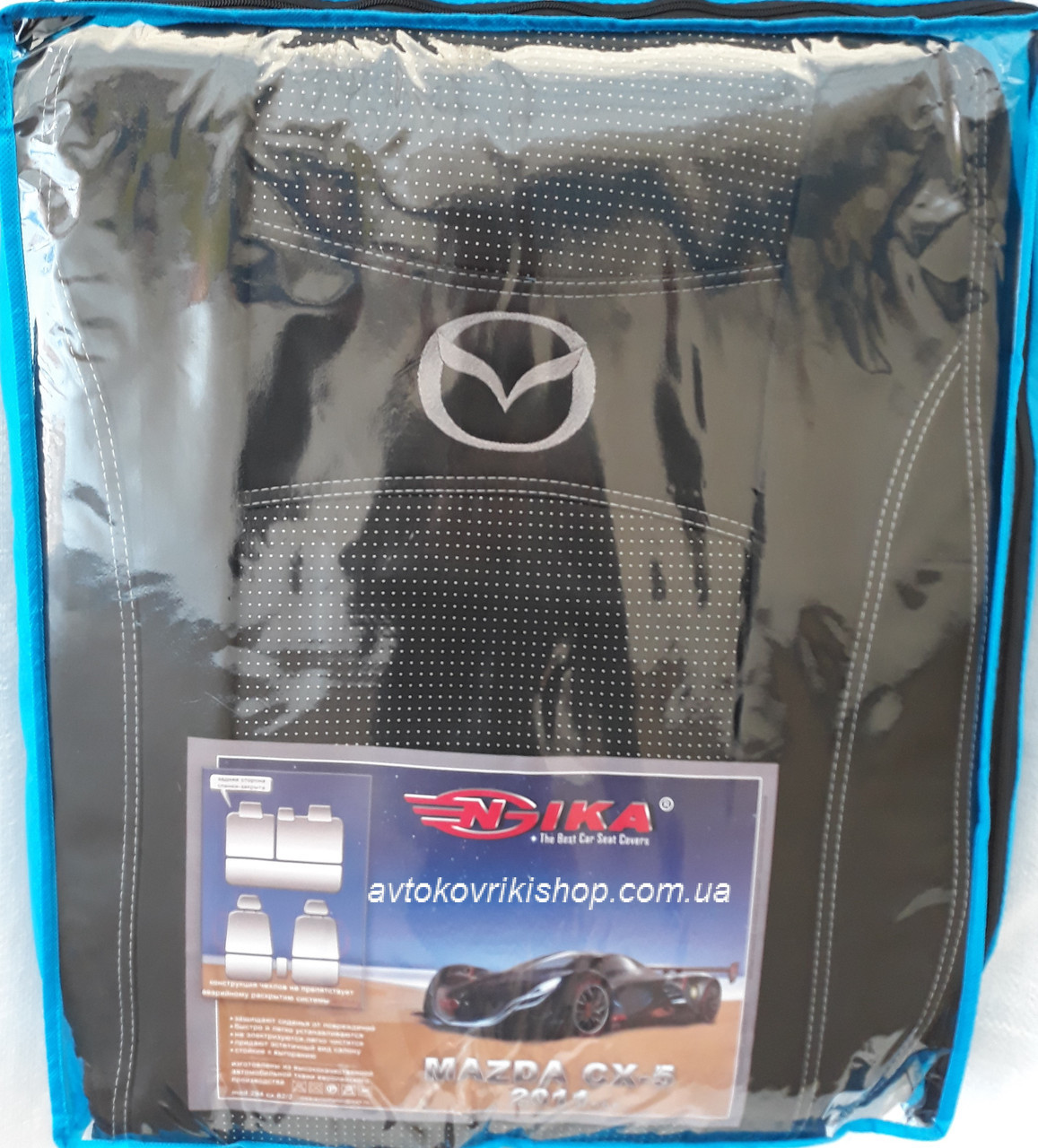 Авточехлы Mazda CX-5 2011-2017 Nika