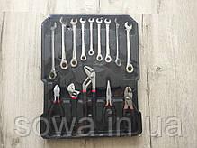 ✔️ Набор ключей LEX 186CC-2  186шт | C45 инструментальная сталь и Cr-V (хром-ванадый), фото 2