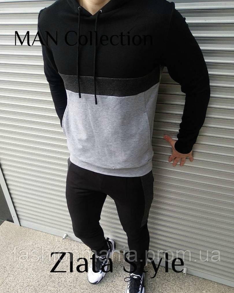 Костюм мужской спортивный, штаны и толстовка