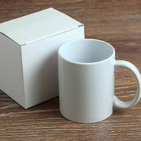 Чашка сублимационная белая в коробке Premium А/330мл