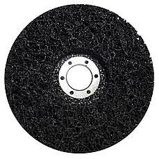 Диск абразивный для снятия краски и ржавчины под болгарку POLYSTAR 125 мм (мягкий)