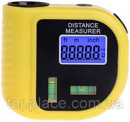 Лазерная рулетка с уровнем, дальномер CP-3010