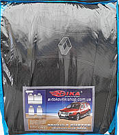 Авточехлы Renault Duster 2010- (раздельная) Nika