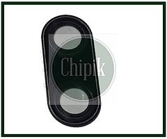 Скло (віконце камери) для Meizu M16th, чорне