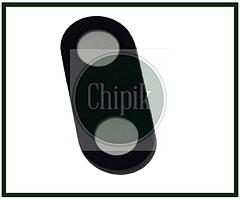 Скло (віконце камери) для Meizu E3, M851Q, чорне