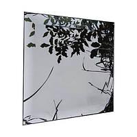 Зеркало НСК 100см х 100см, тонированное графит, с фацетом 2см