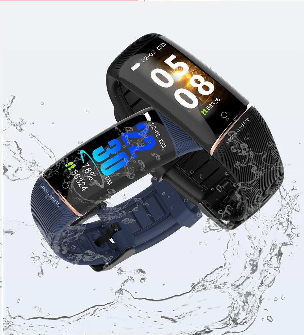 Smart band X11, Черный. Тонометр, Водонепроницаемый, Спорт, фитнес часы, фитнес браслет, фото 1