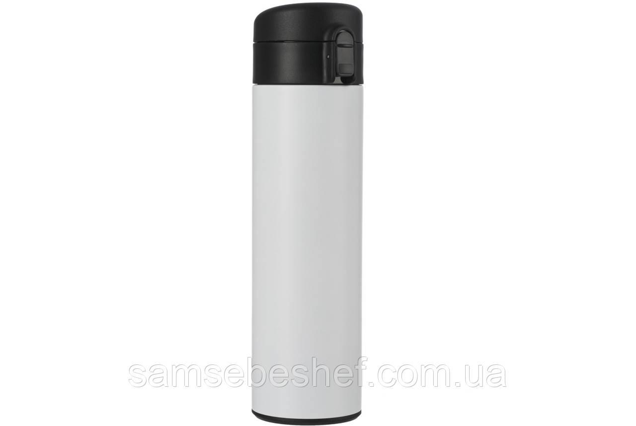 Термокружка матовая белая 480 мл Vinzer 89135