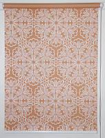 Готовые рулонные шторы 325*1500 Ткань Эмир Коралл
