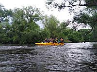 Сплав рікою Серет на катамаранах і байдарках
