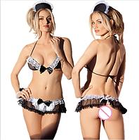 🍓Секси горничная   ЭРОТИЧЕСКОЕ БЕЛЬЕ, женское, эротическая одежда, костюм горничной