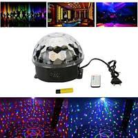Світлодіодний диско куля Music Ball M6 з bluetooth, світломузика