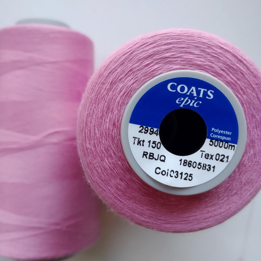 Нитки Coats Epic 2994/150/ 5000м.