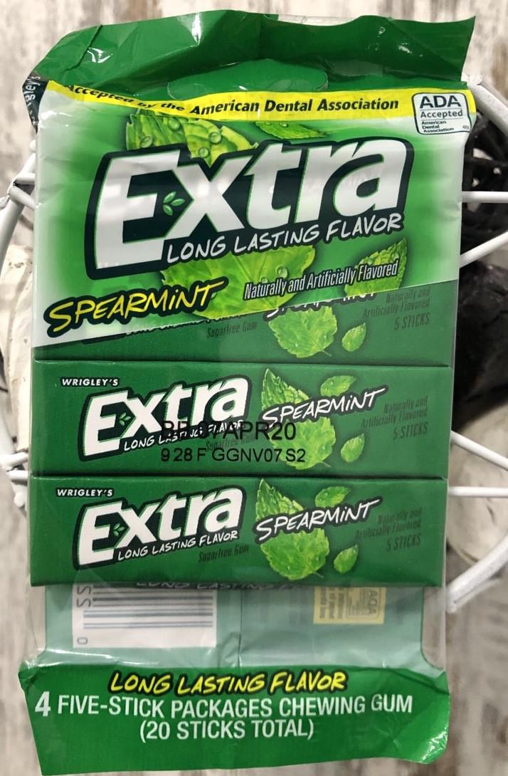 Жвачка Extra Класическая мята