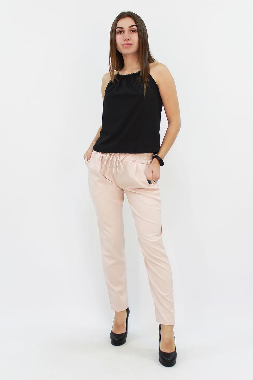 S (42-44) / Стильні жіночі брюки Shansy, бежевий