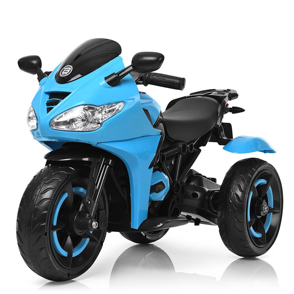 Электромобиль Мотоцикл M 3683L-4 синий BAMBI