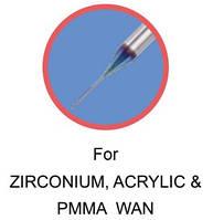 For ZIRCONIUM, ACRYLIC & PMMA WAX