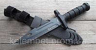Тактический нож Columbia. Армейский нож для выживания. Нож полевой + ножны. Нескладной нож.