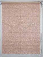 Готовые рулонные шторы 300*1500 Ткань Эмир Персик