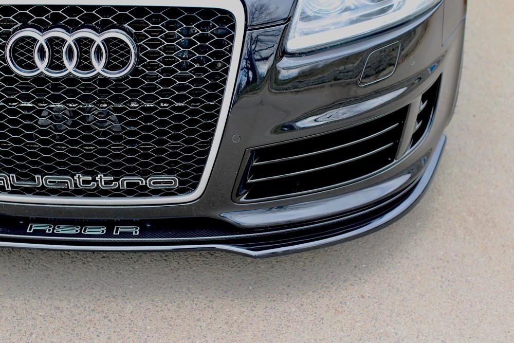 Диффузор переднего бампера Audi RS6 C6