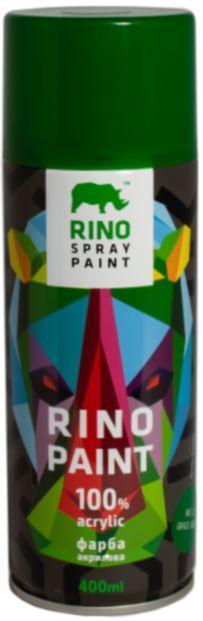 Универсальная акриловая аэрозольная эмаль Rino (Зеленая трава RP-37)