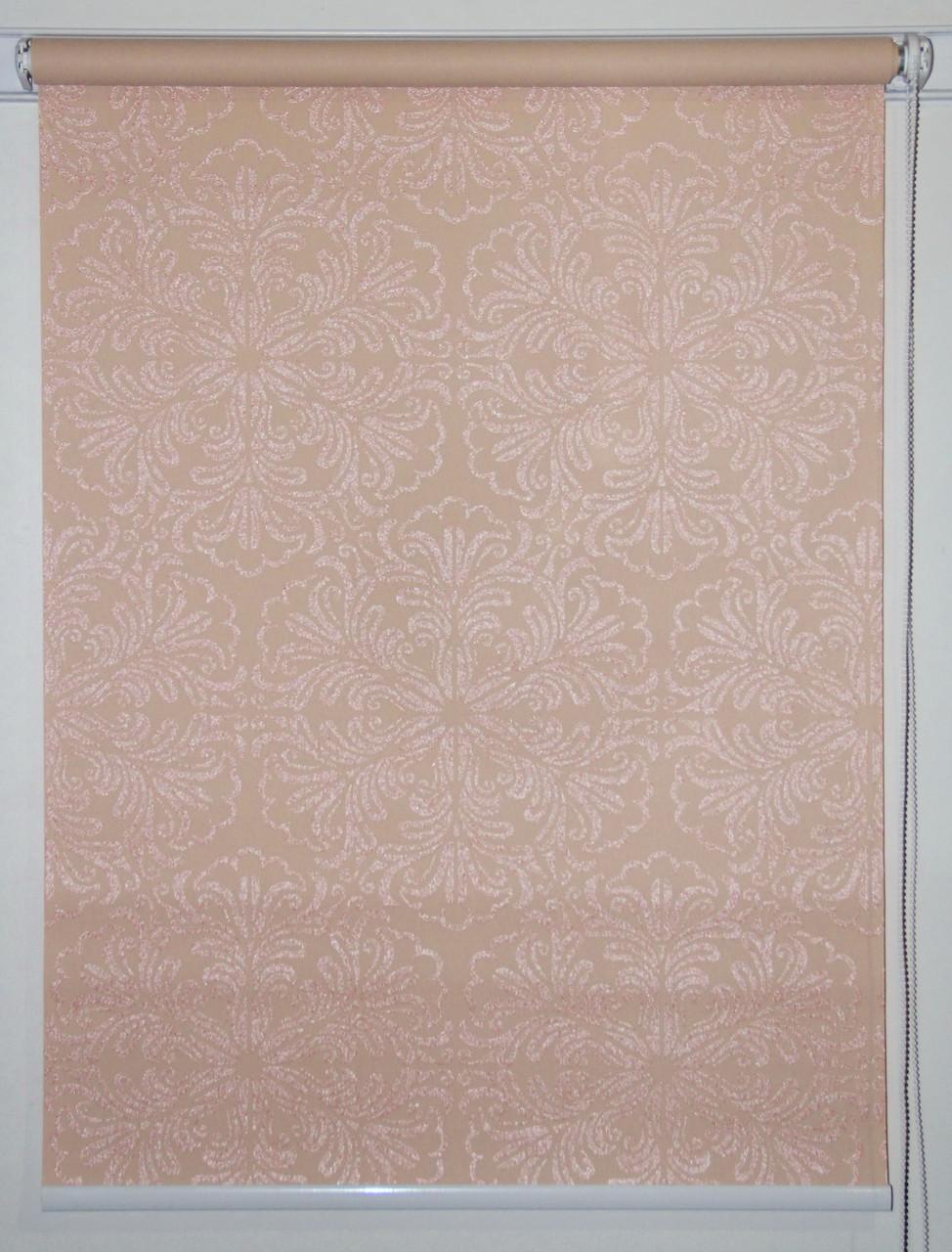 Рулонная штора 625*1500 Эмир Персик