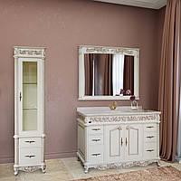 Зеркало Marsan OLYMPIA влагостойкое в деревянной раме